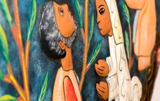 Altarbild Details