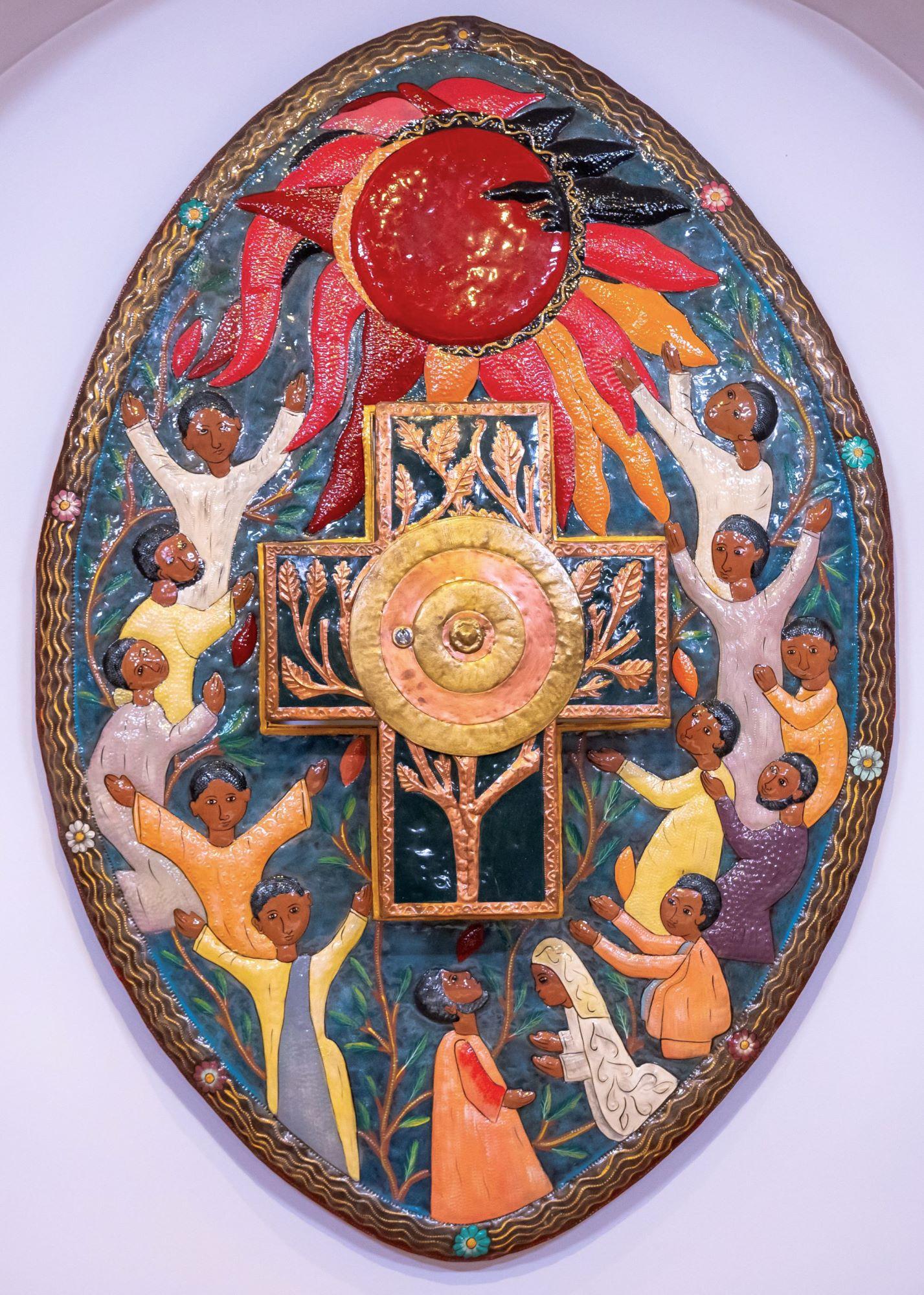 """Altarbild """"Licht-der-Völker""""-Kapelle"""