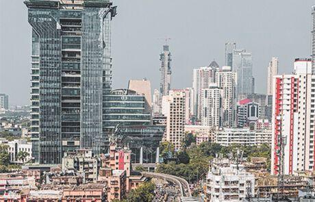 Indische Großstadt