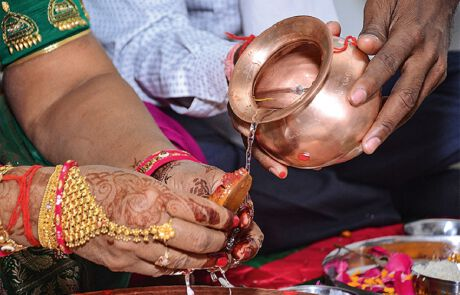 Wenn Hindus heiraten…