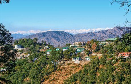 Landschaft in Indien