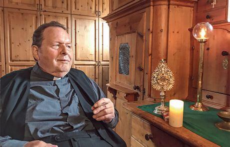 Ottfried Fischer als Pfarrer