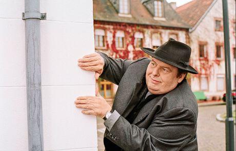 Ottfried Fischer beim Schauspielen