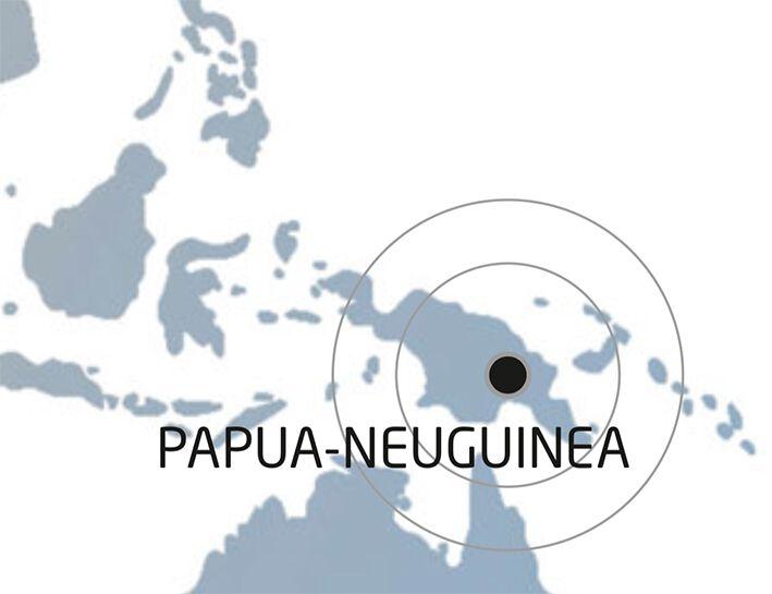 Papua Neuguinea Karte