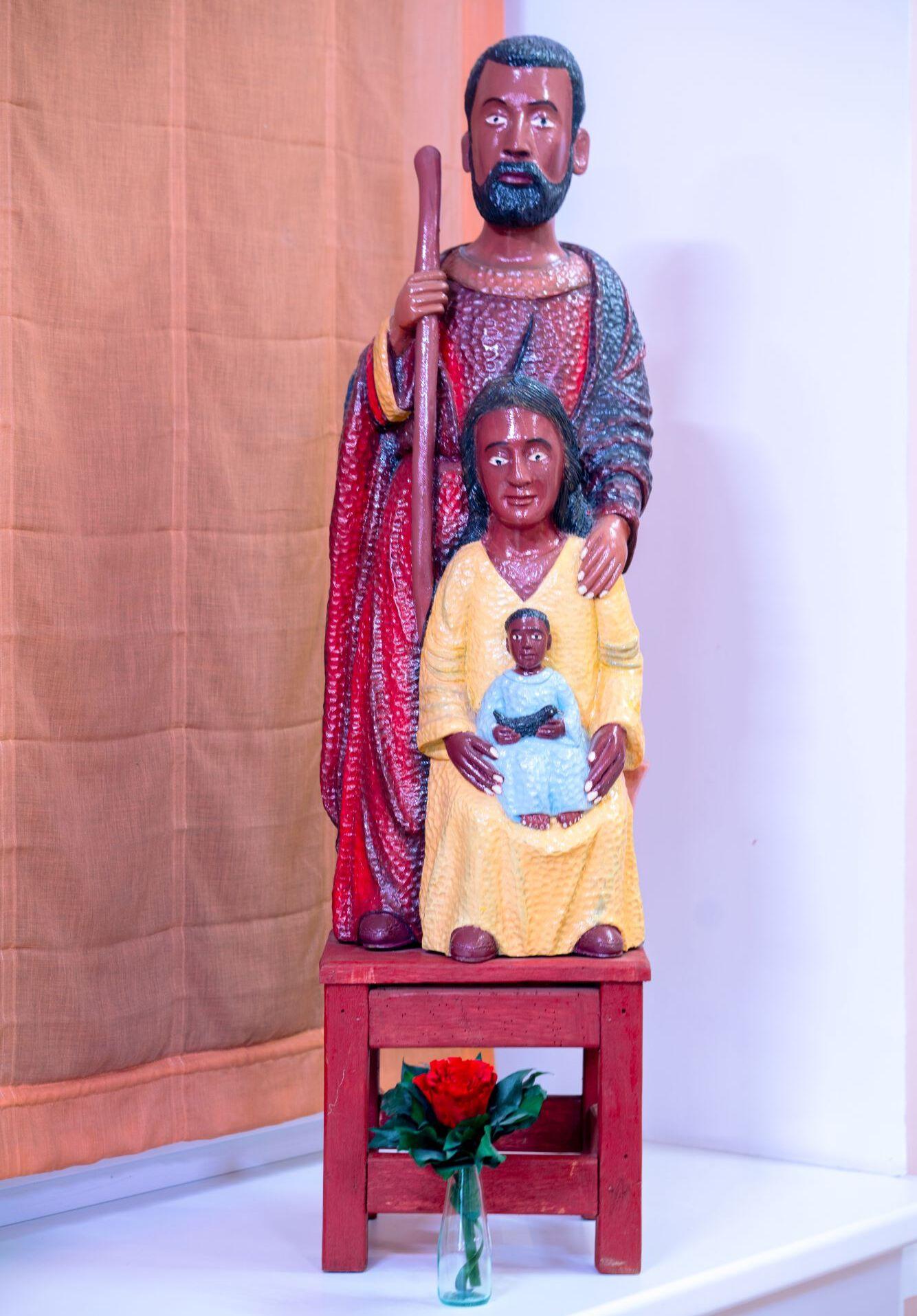 "Statue ""Heilige Familie"""