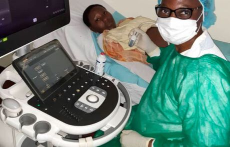 Dank eines gespendeten Ultraschallgeräts kann schwangeren Frauen besser geholfen werden.