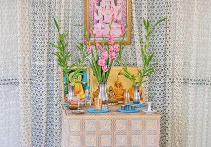 Buddhistischen Gläubigen steht ein eigener Raum zum Meditieren zur Verfügung