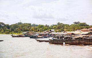 Rund 1.200 Anlegestellen wie diese gibt es am Victoriasee.