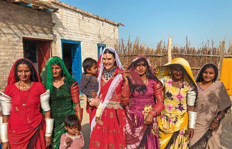 festliche, pakistanische Kleider