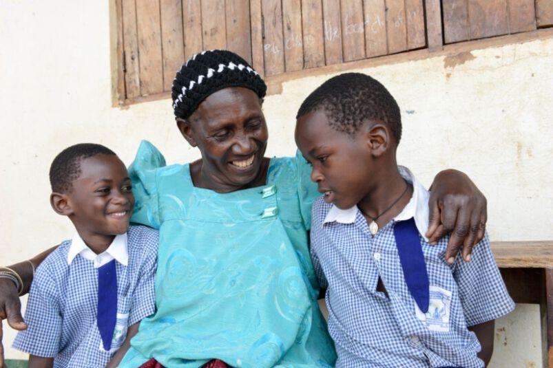 Ugandische Familie