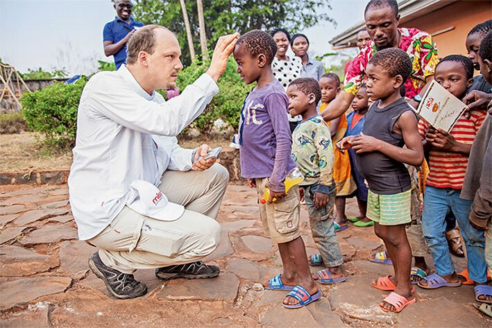 Segensbringende Begegnungen in Kamerun