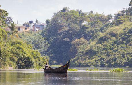 Boot auf dem Victoriasee