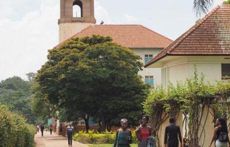 Hauptgebäude der Makerere Universität