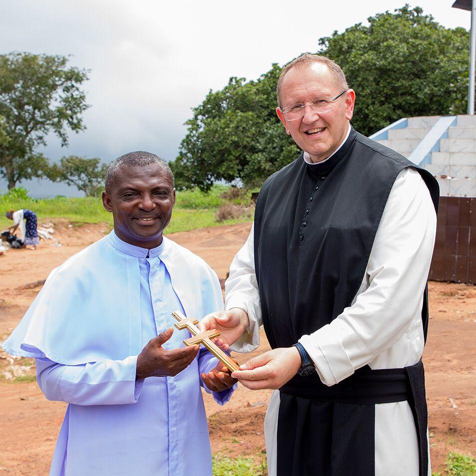 Nigeria, Pater Karl Wallner