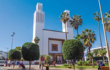 Die Kathedrale St. Peter in Rabat.