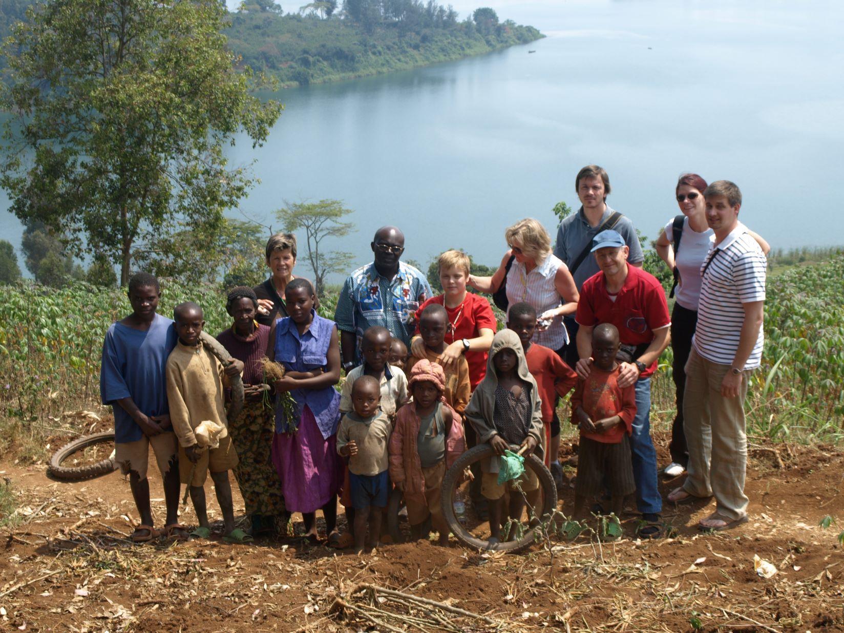 Pfarre Karlau zu Besuch in Ruanda