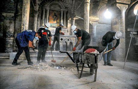 Wiederaufbau christlicher Kirchen in Irak