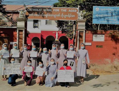 Die Kirche und der Myanmar-Protest