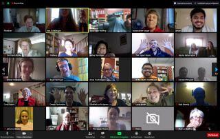 Online-Kurs über Zoom in Zeiten von Corona