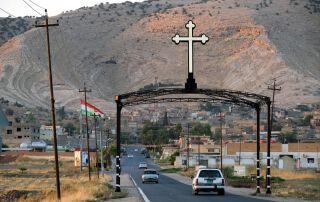 Kreuz in Kurdisten