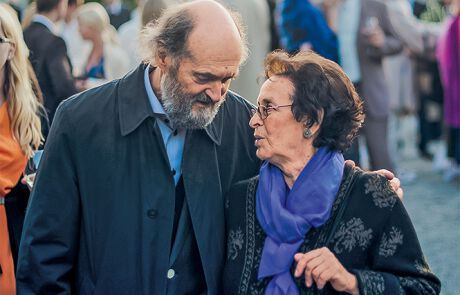 Arvo Pärt und seine Frau
