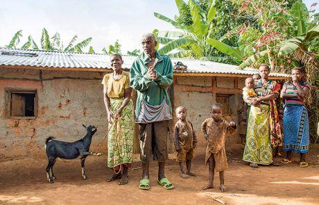 Familie in Burundi