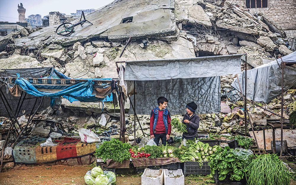 Nach zehn Jahren Krieg sind große Teile Syriens zerstört.