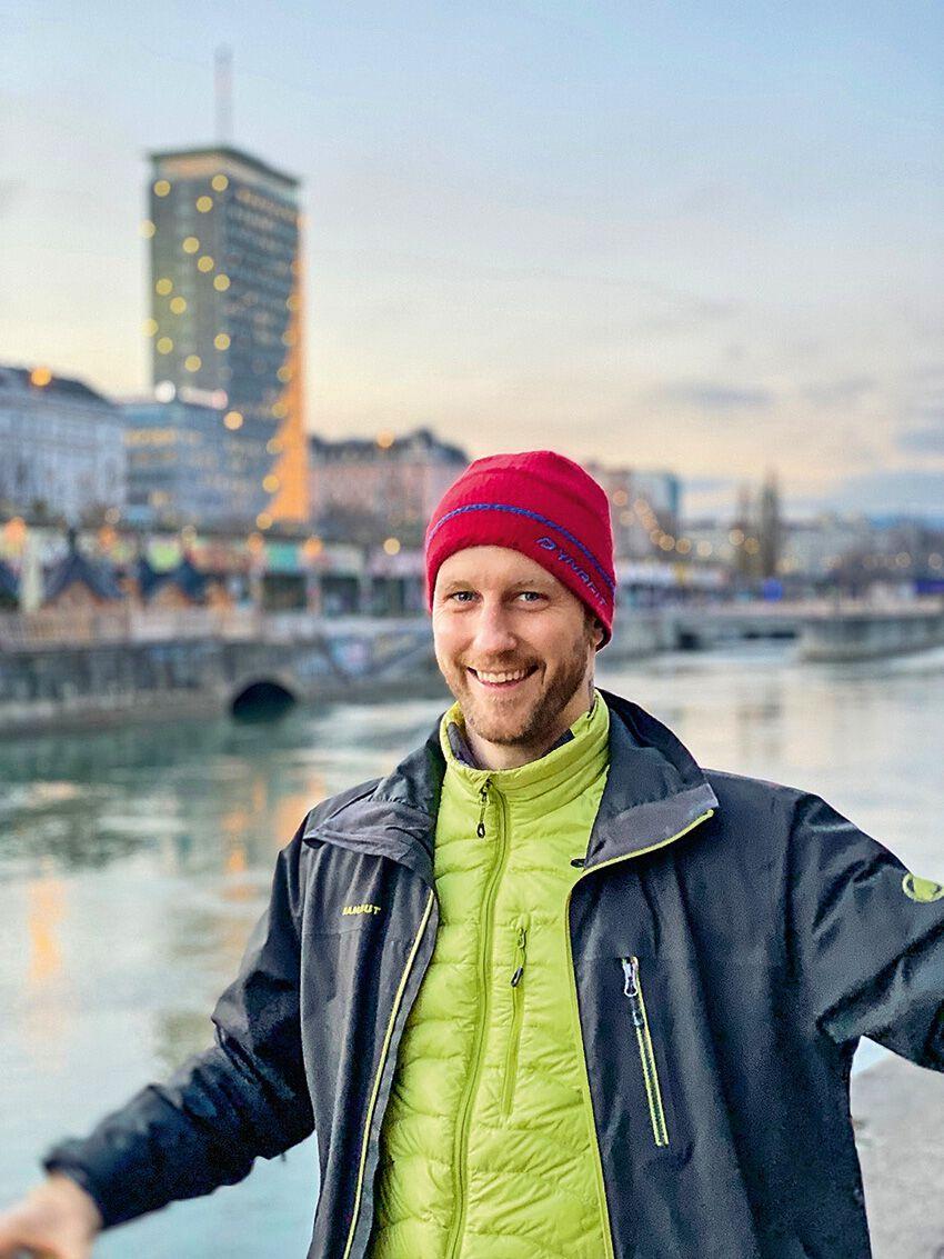 Philipp Michaelitsch an der Donau