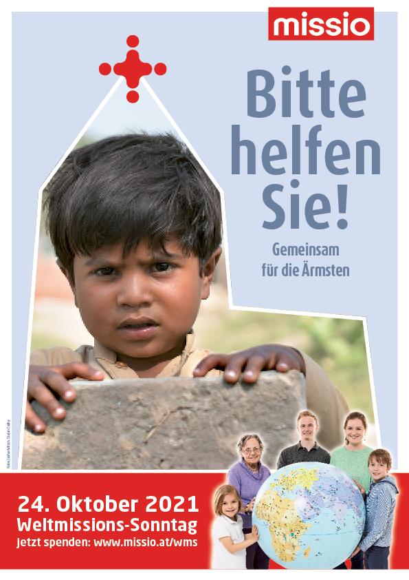 Weltmissionssonntag-Plakat