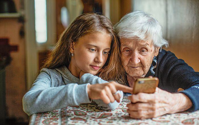 Generationen im Miteinander